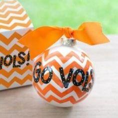 Go Vols ornament - by Coton Colors
