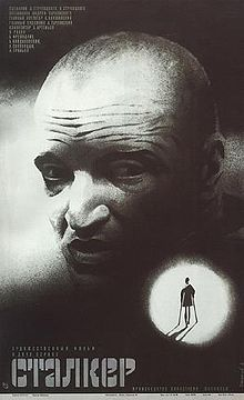 Stalker (Russian: Ста́лкер; IPA: [ˈstɑlkʲɪr]) is a 1979 science fiction film directed by Andrei Tarkovsky, with a screenplay written by Boris and Arkady Strugatsky, loosely based on their novel Roadside Picnic. It depicts an expedition led by the Stalker to bring his two clients to a site known as the Zone, which has the supposed potential to fulfill a person's innermost desires.