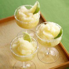 These mock margaritas are just 58 calories per drink! Get the recipe: http://www.recipe.com/mock-margarita/?socsrc=recpin041912mockmargarita