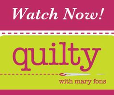 I love this show. Free videos that explain a ton of stuff about quilting!