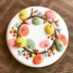 #easterwreath #eastercookies #godisinthedetails #heisrisen #eastereggs #sweettcakes #decoratedsugarcookies #decoratedcookies #couturecookies #customcookies #dowhatyoulove