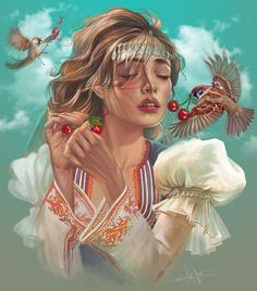 Great Life, Beautiful Drawings, Bulgarian, New Age, Folklore, Digital Art, Art Gallery, Princess Zelda, Fantasy