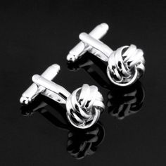 X-122-Stainless-Steel-Silver-Toned-Mens-Wedding-Cufflinks-Gift-Box-Free-S-H