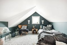 Create a sleeping nook with attic [simple decoration ideas, interior design, home design, decoration, decorations, decor home, simple home decoration ideas,home]