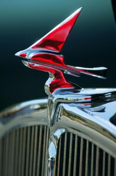 Hood Ornament of the Franklin Olympic -  1933