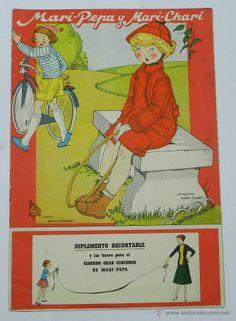 Cuento de mari pepa y mari chari, ilustraciones de maria claret y texto de emilia cotarelo, tiene 16