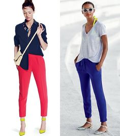 @Who What Wear - How do you perfect the half tuck? For button-down shirts, choose just one section to tuck into your waistband. For t-shirts, tuck a little deeper into your waistband, and a little further towards the back, so that the tuck is more defined.