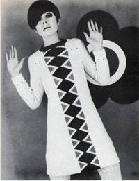 Mary Quant for Courtelle --- How groovy is this, baby? : )