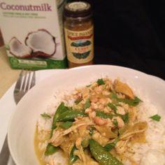 Crock pot curry chicken