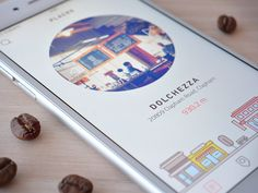 Main screen (coffee app) by Cuberto