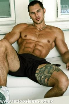 bad boys to bad girls. I love... the tattoos  24 hours, 24 tattoos for men by @Tattoos  #tattoos #tattoo #tattoosformen
