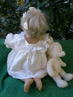Zapf Künstlerpuppe 56 cm blond Rosalie von Bettine Klemm Sammler Puppe Doll | eBay