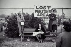 Lost Persons Area, Pasadena, California, 1963    Photo by Elliott Erwitt