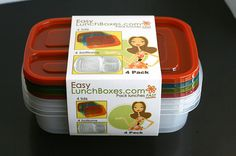 Easy LunchBoxes.com   Easy peasy  Bento boxes
