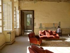 This Century French Chateâu is Transforming Into A Boutique Luxury Hotel Chateau De Gudanes, Interior And Exterior, Interior Design, Living Room Redo, French Chateau, Vintage Stil, French Farmhouse, Downton Abbey, Elle Decor
