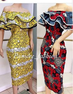 or Red ? ( swipe) Both dresses are available in size uk Price: Midi length off shoulder dress Call/whatsapp 233501099346 Worldwide delivery available at a charge Order/Pay/Receive Latest Ankara Dresses, Ankara Dress Styles, African Print Dresses, African Dress, Ankara Gowns, African Fashion Ankara, Latest African Fashion Dresses, African Print Fashion, Africa Fashion