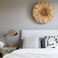 """Safari Fusion Natural Bamileke Feather Headdress via Little Liberty on Instagram: """"Teen room flashback! One of my very favourites from this year ... Mixing textures with a pop of copper and that show stopping juju hat!"""""""