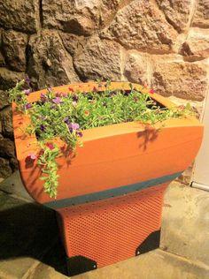 Virágültetés monitorba, egyszerűen. - Planting flowers into a monitor easily.