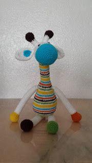 Phatufa: Girafas Amigurumi
