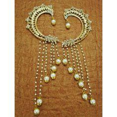 Designer Beautiful Indian Stone Studded Earrings  - 85385 ( SD-Stone Earrings )