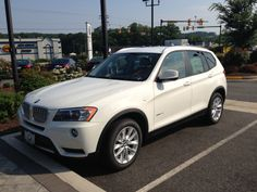 BMW 2014 x3   We have this for a rental this week & it such a sweet ride!