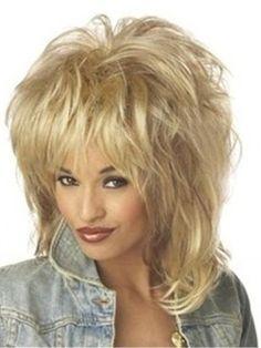 Top Quality Hot Sale Sexy Medium Loose Wavy Blonde Costume Wig  Original Price: $145.00 Latest Price: $47.39
