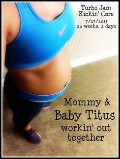 Fitness Blog, turned Fitness+Baby Blog!
