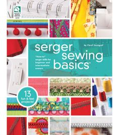 Serger Sewing Basics, , hi-res