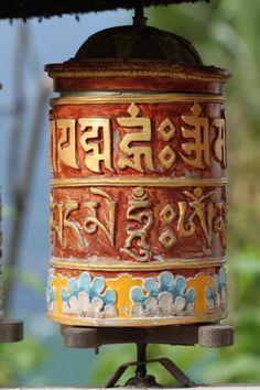 Prayer Wheel At Rumtek Monastery, Rumtek, Sikkim