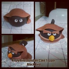 My first attempt in fondant cake toppers. Angry Birds Star Wars - Grandson's Birthday is coming up. Tutorials for Angry Birds Star Wars are hard to find.  I'm winging it by viewing regular Star Wars tutorial and looking and at pictures.