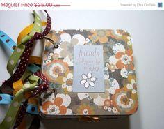 CIJ Friends Mini Scrapbook Album Friends Mini by HampshireRose, $20.00
