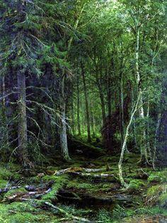 Ivan Shishkin • 1872 • Backwoods