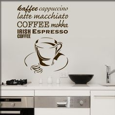 Coffee Irish Coffee, Espresso Coffee, Latte Macchiato, Home Decor, Coffee, Decoration Home, Room Decor, Interior Decorating