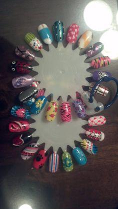 Nail art wheel<3