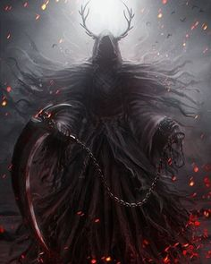Pin by one eyed king on reaper in 2019 dark fantasy art, grim reaper art, f Dark Fantasy Art, Fantasy Artwork, Dark Art, Gothic Artwork, Arte Horror, Horror Art, Fantasy Character Design, Character Art, Fantasy Creatures