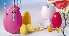 Große Auswahl an traditionellen und modernen #Ostereiern in vielen Farben, Formen und Mustern erhältlich. #Osterdeko #Ostereier #Ostern http://www.decowoerner.com/de/Saison-Deko-10715/Fruehling-Ostern-10729/Ostereier-10752.html