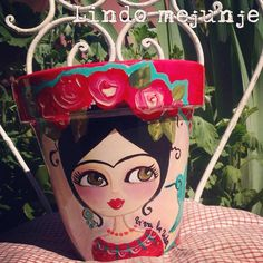 Tole Painting, Diy Painting, Painting On Wood, Painted Flower Pots, Painted Pots, Clay Pot Crafts, Diy And Crafts, Crafty Projects, Fun Projects