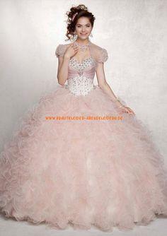 Zauberhaftes Abendkleid Ballkleid für Prinzessin mit Perlenstickerei online 2013