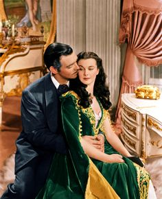 Scarlet O'Hara / Rhett Butler. Perfect. Gone With the Wind. '39.