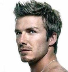 My favorite hairstyle employed by David Beckham.