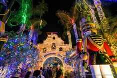 Mission Inn Festival of Lights in Riverside, CA | California Through My Lens