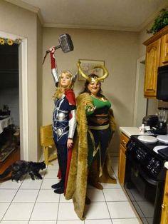 Female Superheroes.