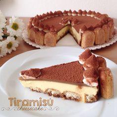 Tiramisú cheesecake