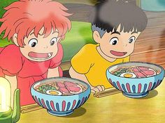 Ponyo One of my favorite things about studio ghibli movies is the glimpses of everyday Japanese life