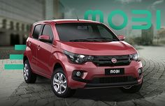 Fiat Mobi em imagem de divulgação (Foto: Reprodução)