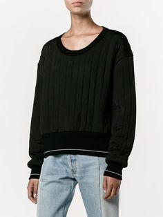 Chloé キルティング スウェットシャツ