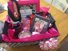 Gift basket I made my bestfriend!