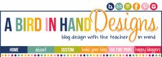 A Bird in Hand Designs. Custom blog backgrounds