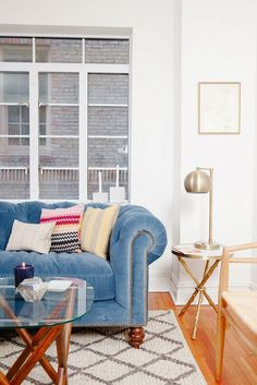 Moving In Together? How to Make Your Feminine Décor Work via @mydomaine