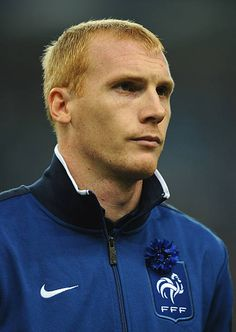 Jeremy Mathieu of France lines up for the National Anthems prior to the International Friendly between France and USA at Stade de France on November. Stock Pictures, Stock Photos, Football Photos, France Photos, National Anthem, Lineup, Royalty Free Photos